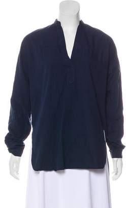 Rag & Bone Plaid Patterned Long Sleeve Tunic