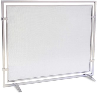 Williams-Sonoma Sinclair Single Panel Screen, Stainless Steel
