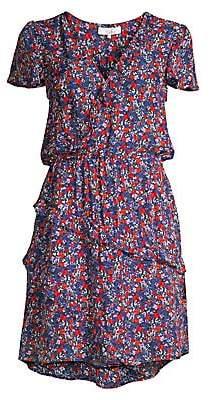 Parker Women's Justice Multicolor Ruffle Mini Dress