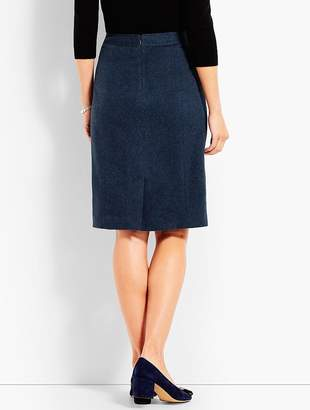 Talbots Italian Luxe Cashmere Pencil Skirt