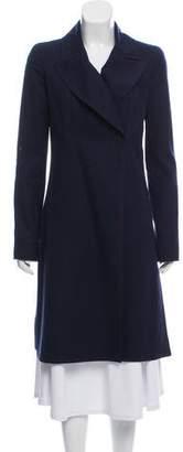 Chanel Long Wool Coat