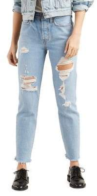 Levi's Classic Distressed Jeans