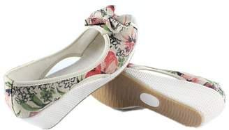 Tianrui Crown Women and Ladies Print Wedge Sandal Shoes Platform Sandals