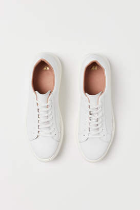 H&M Leather Sneakers - White