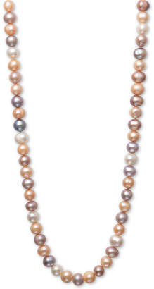 """Belle de Mer Pearl Necklace, 36"""" Cultured Freshwater Pearl Endless Strand (8-1/2mm)"""