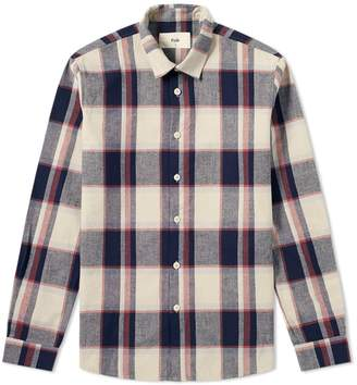 Folk Storm Ghost Check Shirt