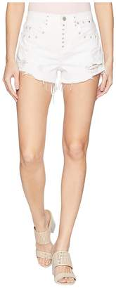 Blank NYC High-Rise Shorts in Lightbox White Women's Shorts