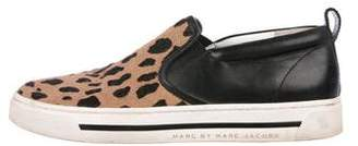Marc by Marc Jacobs Ponyhair Slip-On Sneakers