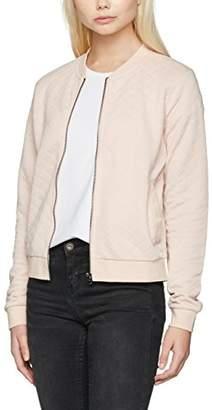Only Women's onlJOYCE LS BOMBER NOOS Jacket, Grey (Light Grey Melange), 36 (Manufacturer size: )