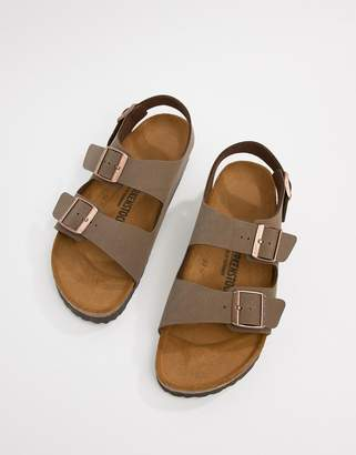 14f5d048eaa1 Birkenstock Milano birko-flor nubuck sandals
