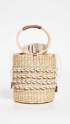 Poolside Bags Shell Mania Bobbi Bucket