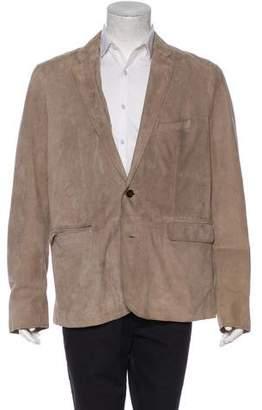 Burberry Weatherproof Lambskin Blazer