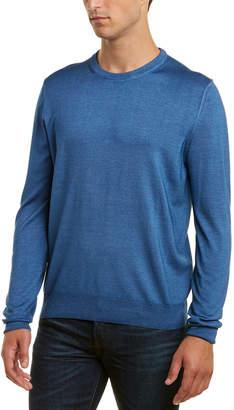 Canali Crewneck Wool & Silk-Blend Sweater
