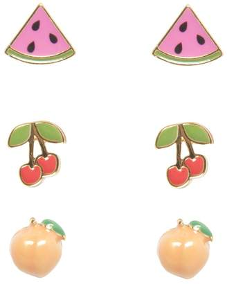 Juicy Couture Fruit Earring Stud Set