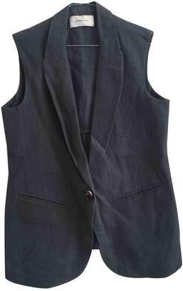 Madame à Paris Blue Linen Jacket for Women