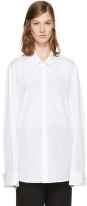 Ann Demeulemeester White Back Ties Shirt