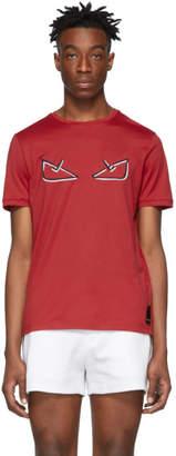 Fendi Red Bag Bugs T-Shirt