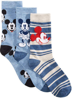 Disney 3-Pk. Mickey Mouse Socks Gift Box