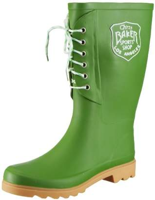 Beck Women's Fashion Rubber Boots Green Size: