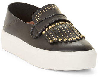 BCBGMAXAZRIA Dita Studded Leather Sneakers