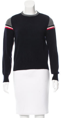MonclerMoncler Crew Neck Wool Sweater
