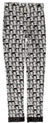 Chanel Paris-Dubai Holographic Pants