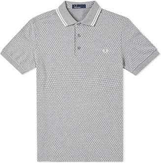 Fred Perry Authentic Geometric Print Pique Polo