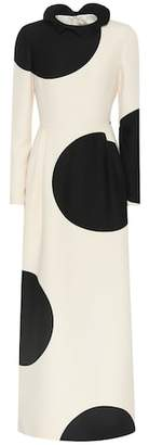 Valentino Silk and wool dress