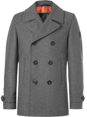Belstaff Duran Double-Breasted Virgin Wool-Blend Overcoat