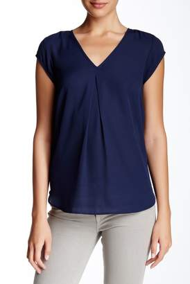 Daniel Rainn V-Neck Woven Blouse $58 thestylecure.com