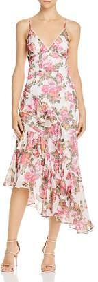 Keepsake Oblivion Floral Midi Dress