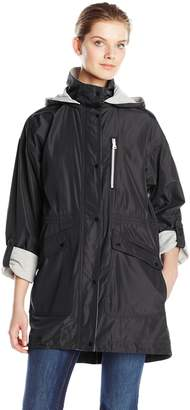 Vince Camuto Women's Jersey Lined Anorak Jackets