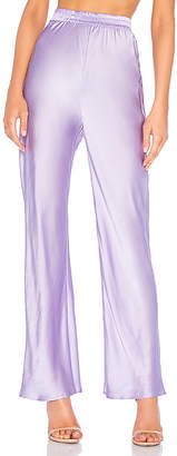 Michael Lo Sordo Bias Cut Silk Pant