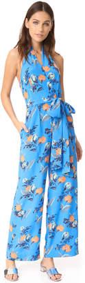 Diane von Furstenberg Sleeveless Halter Neck Jumpsuit $468 thestylecure.com