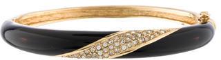 Christian Dior Christian Dior Crystal & Enamel Bangle