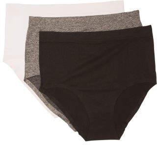 3pc Seamless High Waist Laser Panties