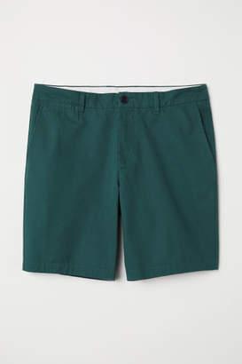 H&M Chino Shorts - Green