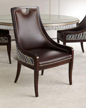 Massoud Markham Leather Dining Chair