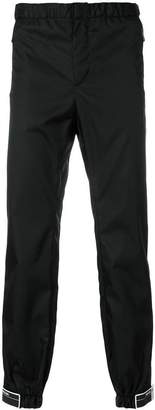 Prada Rubber Tag Track Pants