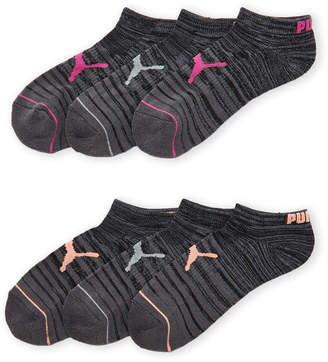 Puma 6-Pack Low-Cut Cushioned Socks