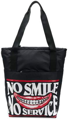 Stella McCartney shopper print tote bag
