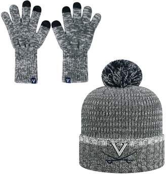 Top of the World Adult Virginia Cavaliers Frostbite Beanie & Glove Set
