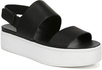 Vince Westport Platform Two-Tone Sandals