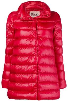 Herno button padded coat
