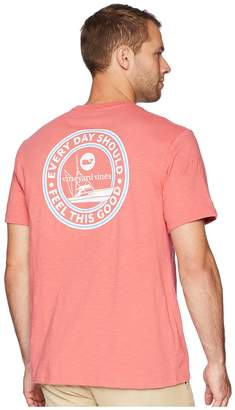 Vineyard Vines Slub EDSFTG Crest Pocket T-Shirt Men's T Shirt