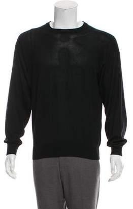 Giorgio Armani Silk Crew Neck Sweater