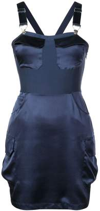 Fleur Du Mal overall mini dress
