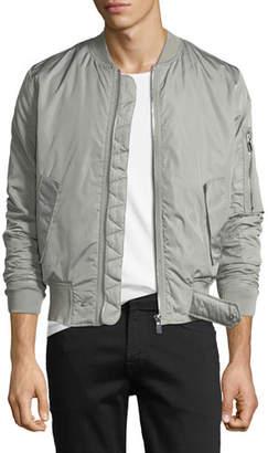 Eleven Paris Mens' Suxy Nylon Zip-Front Bomber Jacket