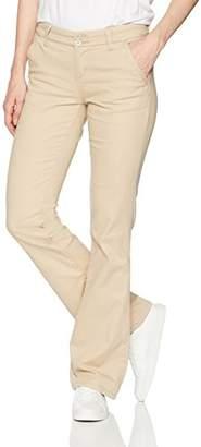 UNIONBAY Women's Hayden Two-Button Bootcut Uniform Pant