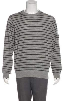 Theory Wool-Blend Striped Sweater